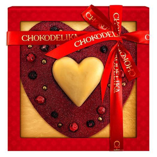 Шоколадное изделие Бархатное сердце