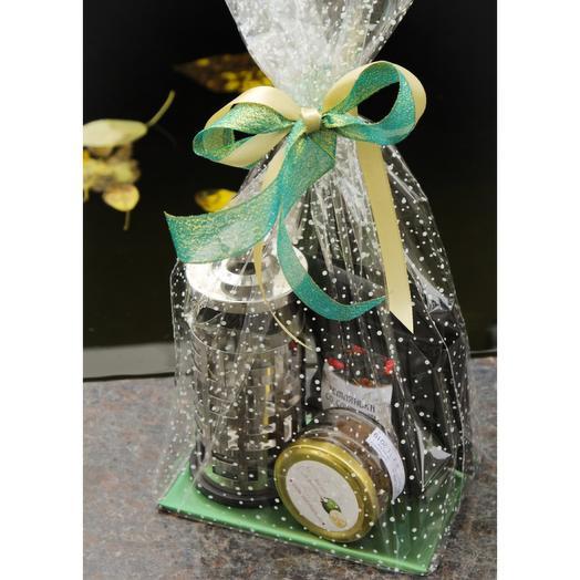 Подарочный набор чай/варенье/чайник