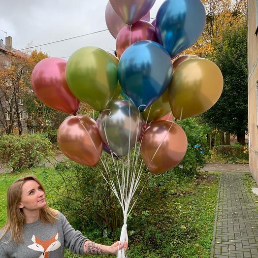 Микс воздушных шаров 19 шт