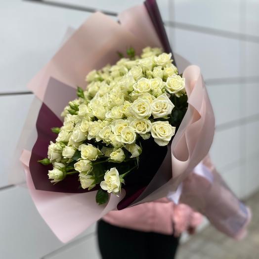 Букет цветов «Сноу Флейк»