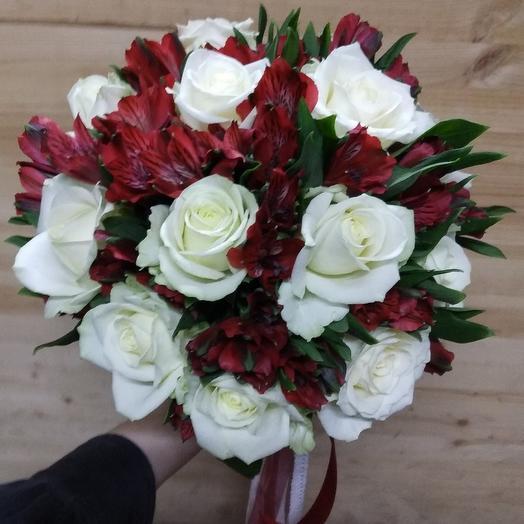 """Свадебный """"Красно-белый"""""""