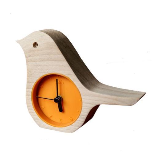 Часы Early Bird оранжевые