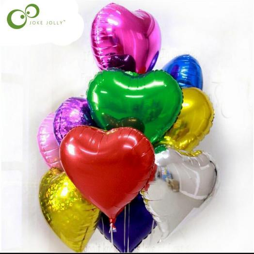Фольга сердце