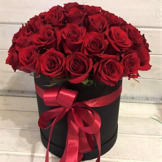 Цветы в коробке 35