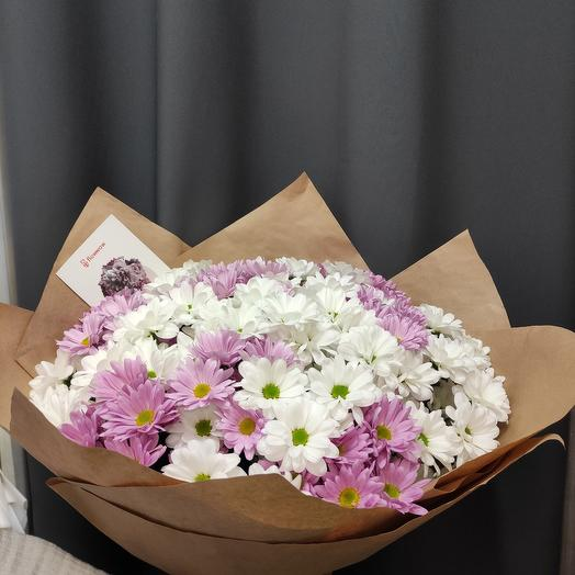 Large bouquet of chrysanthemums 19 hit