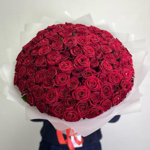 Роза России букет