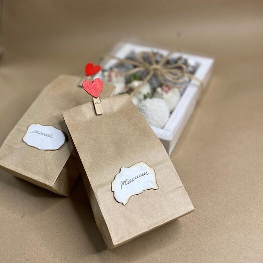 Комбо набор «клубника в шоколаде»