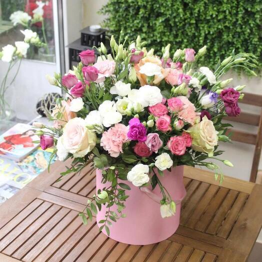 Цветы в коробке🦋