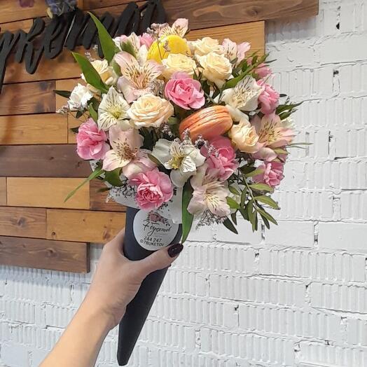 Цветочный рожок 3
