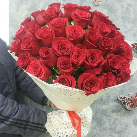 Вишневый мусс: букеты цветов на заказ Flowwow
