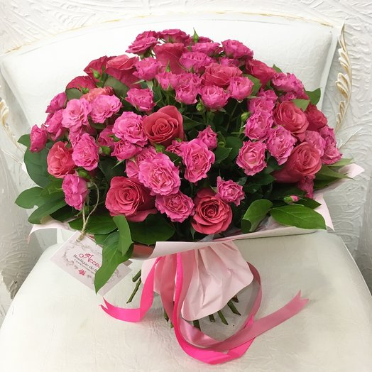 Розарий: букеты цветов на заказ Flowwow