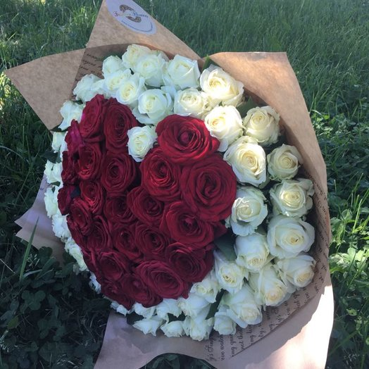Heart beat: букеты цветов на заказ Flowwow