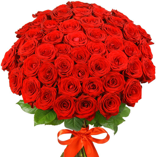 "51 красная роза ""Ред Наоми"""