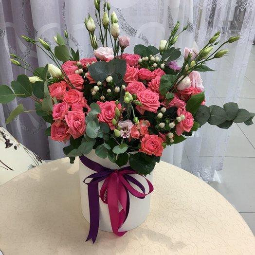 """Букет """"Филадельфия"""" в коробке: букеты цветов на заказ Flowwow"""