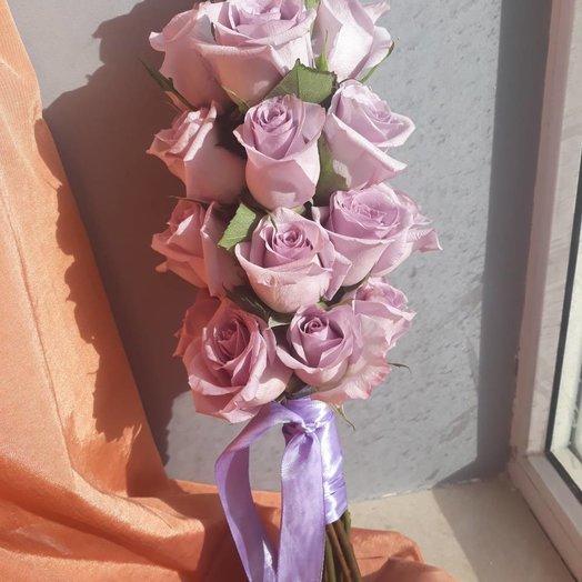 25 роз в оригинальном оформлении: букеты цветов на заказ Flowwow