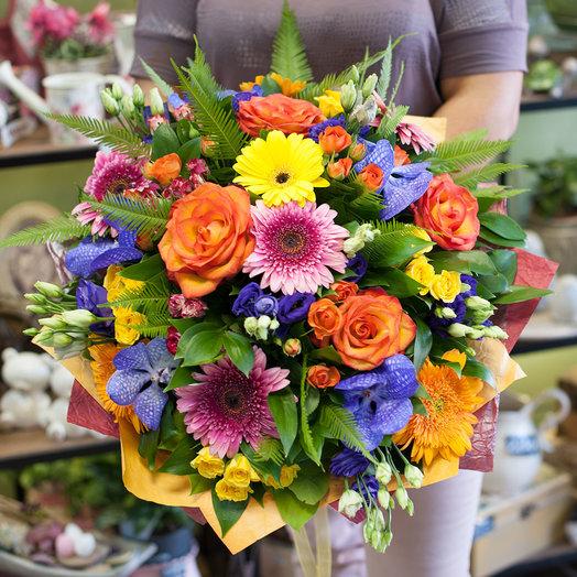 Букет цветов Цветочная алхимия