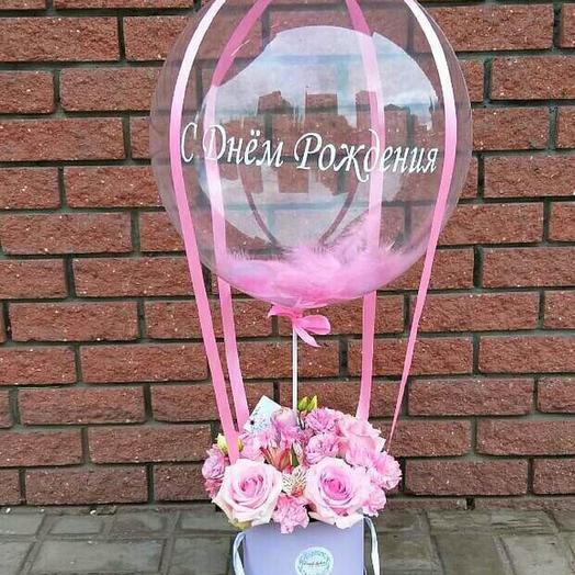 Поздравление с Днём Рождения: букеты цветов на заказ Flowwow