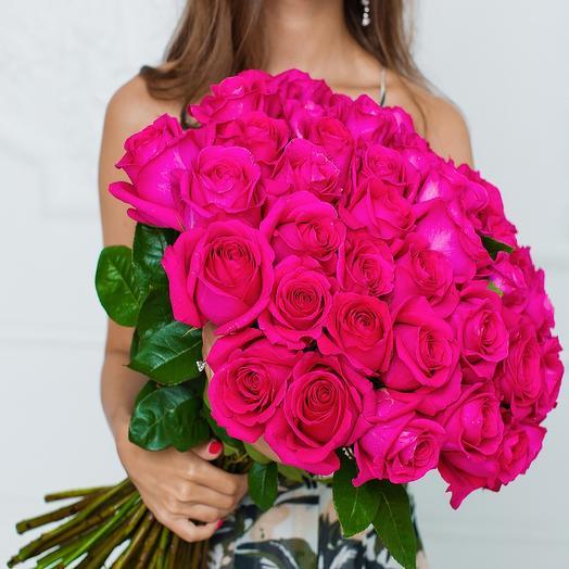 Букет роз Люкс: букеты цветов на заказ Flowwow