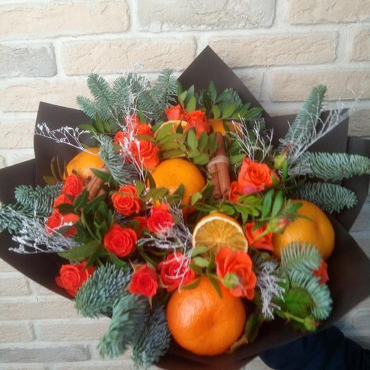 Рыжий: букеты цветов на заказ Flowwow