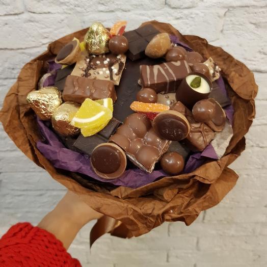 Самый вкусный букет: букеты цветов на заказ Flowwow