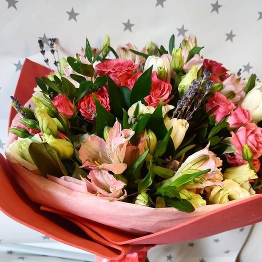 "Букет ""Плюшевый"": букеты цветов на заказ Flowwow"