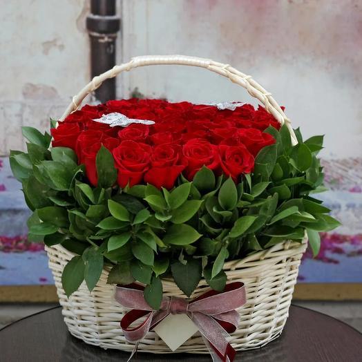 Корзинка  14: букеты цветов на заказ Flowwow
