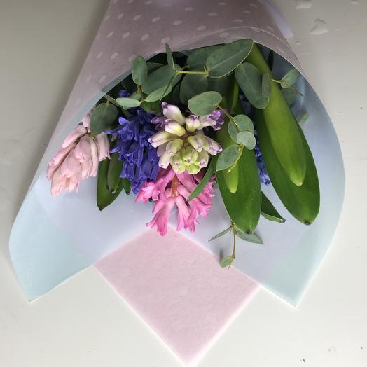 Нежная весна: букеты цветов на заказ Flowwow