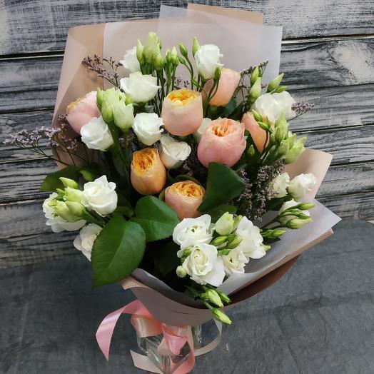 Персиковый бум: букеты цветов на заказ Flowwow