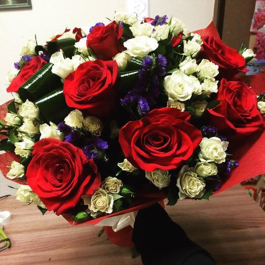 Класическая полусфера: букеты цветов на заказ Flowwow