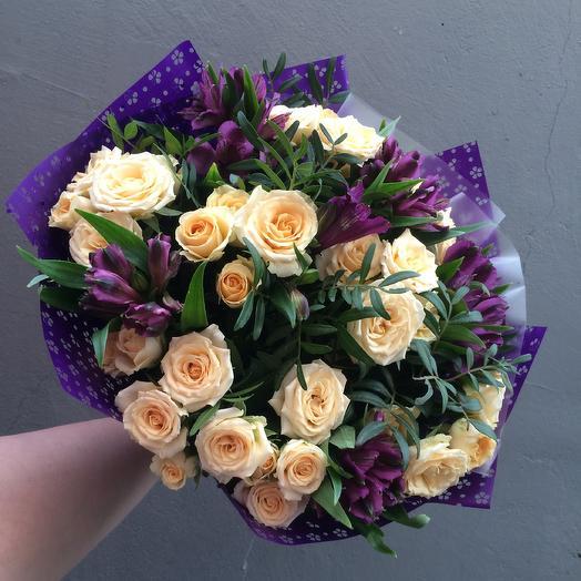 Fiolet: букеты цветов на заказ Flowwow