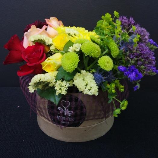 Дело в шляпе: букеты цветов на заказ Flowwow