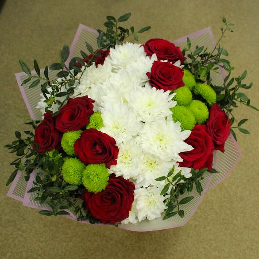 Букет Контрастный: букеты цветов на заказ Flowwow