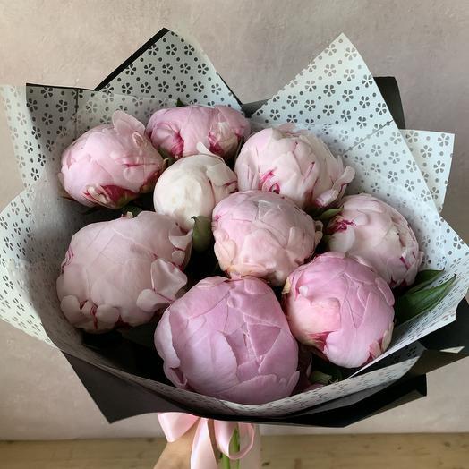 Пионовое джелато: букеты цветов на заказ Flowwow
