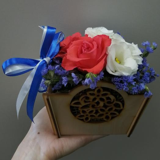 Мини садик: букеты цветов на заказ Flowwow