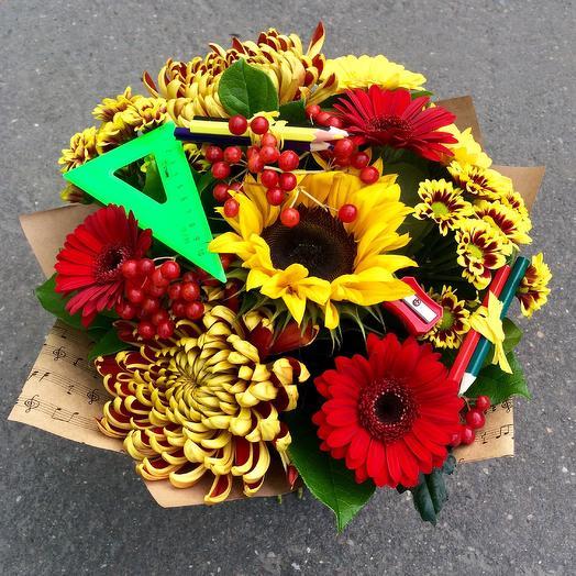 📚Школьная пора🎒: букеты цветов на заказ Flowwow