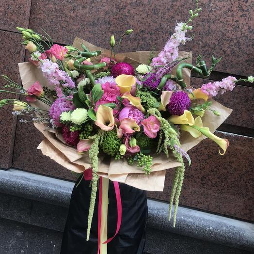 Шикарный букет для шикарной дамы: букеты цветов на заказ Flowwow