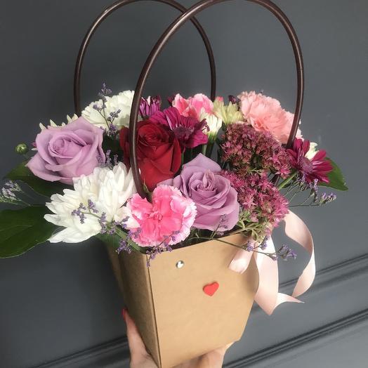 Сумочка👛: букеты цветов на заказ Flowwow