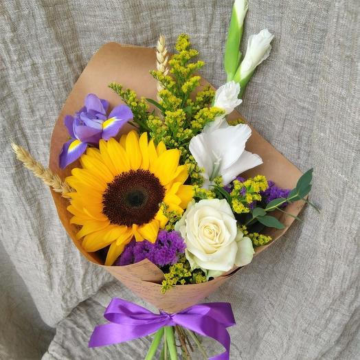 Букет День знаний 1: букеты цветов на заказ Flowwow