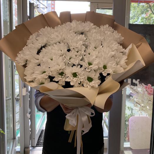 Ромашковая идиллия: букеты цветов на заказ Flowwow