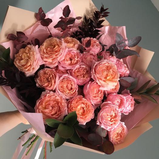 Абрикосовый: букеты цветов на заказ Flowwow