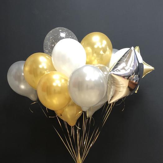 Облако из шаров: букеты цветов на заказ Flowwow