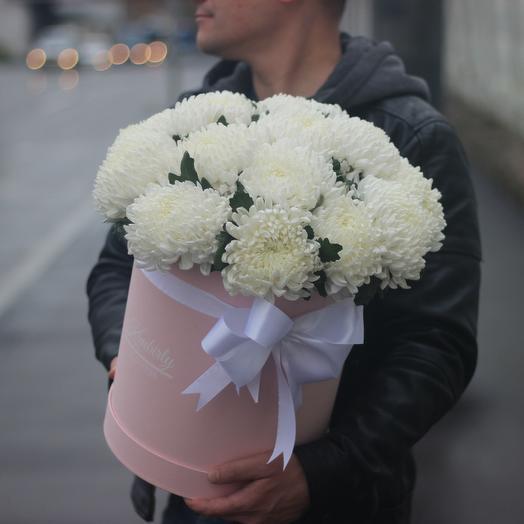 Огромные хризантемы: букеты цветов на заказ Flowwow