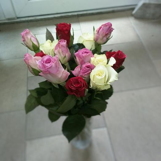 Ароматный микс: букеты цветов на заказ Flowwow