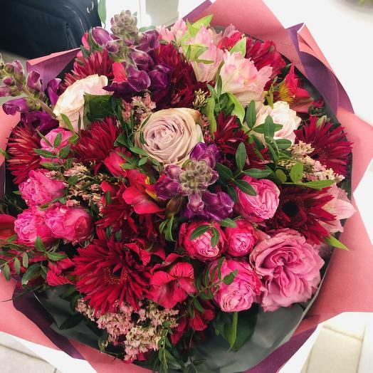 Нега осени: букеты цветов на заказ Flowwow