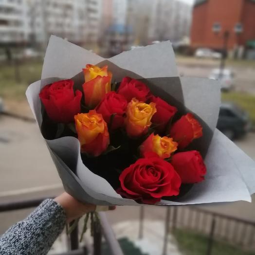 11 роз 🌹🌹🌹: букеты цветов на заказ Flowwow