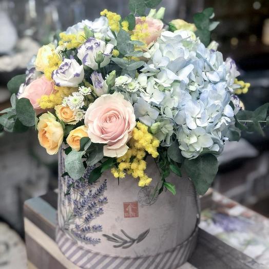 Мимоза в коробке: букеты цветов на заказ Flowwow