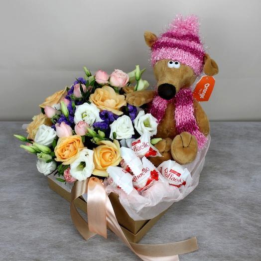 Первый поцелуй: букеты цветов на заказ Flowwow