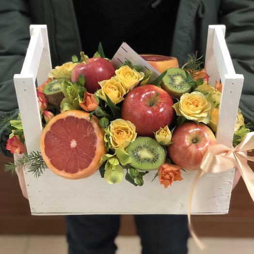 A box of vitamins
