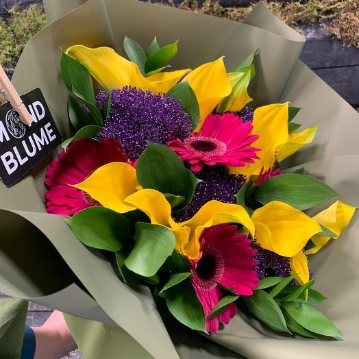 Букет Яркое Лето: букеты цветов на заказ Flowwow
