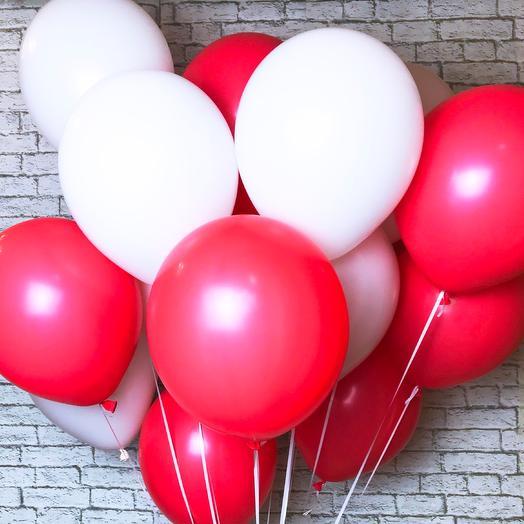 19 шариков пастель (цвета на выбор): букеты цветов на заказ Flowwow